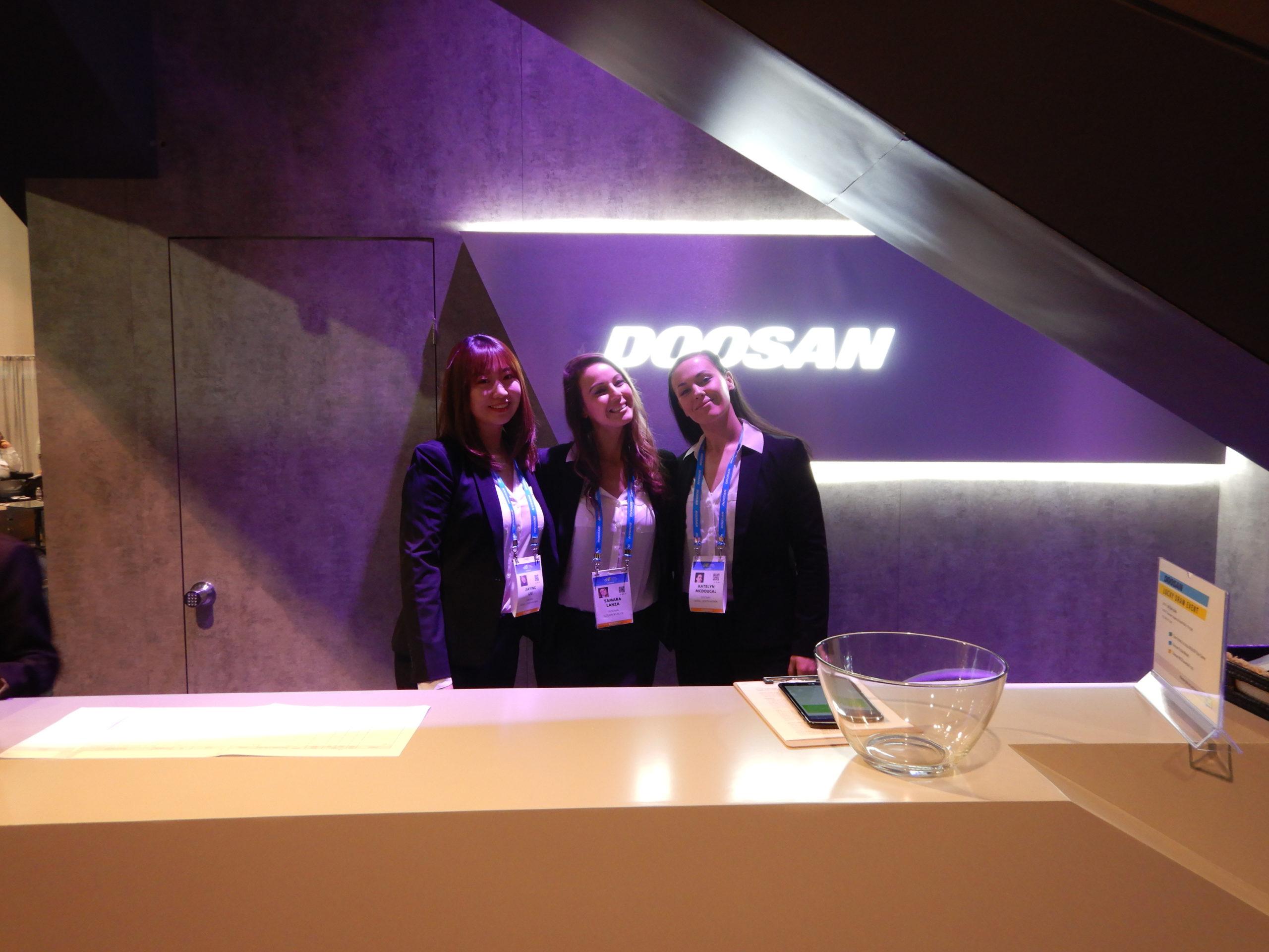 Hussmann's CES 2020 Booth Design